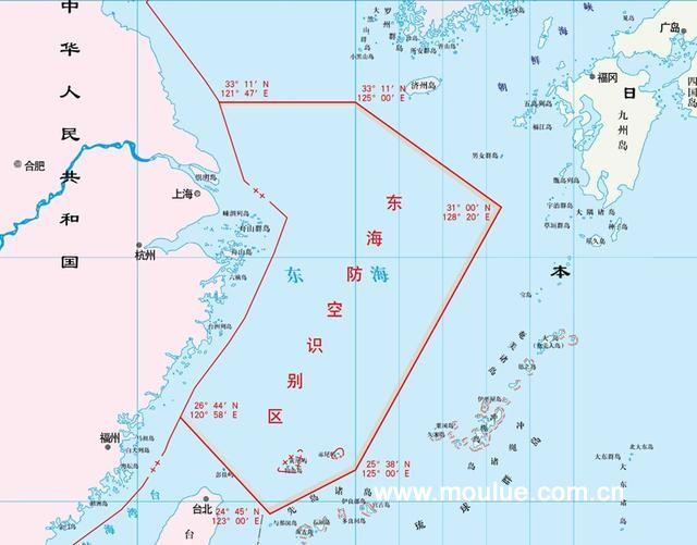 美导弹30秒可打上海,东海识别区赢预警时间